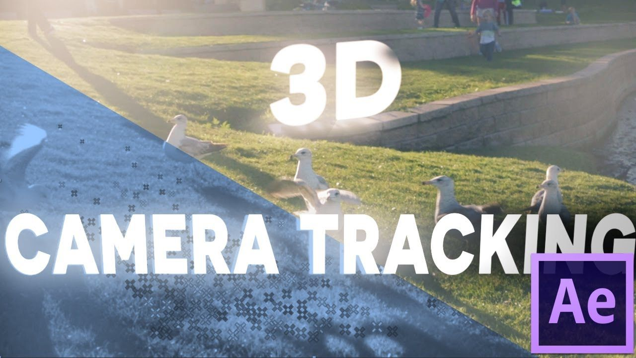 After Effects Basic Tutorial 3d Camera Tracking Adobe After