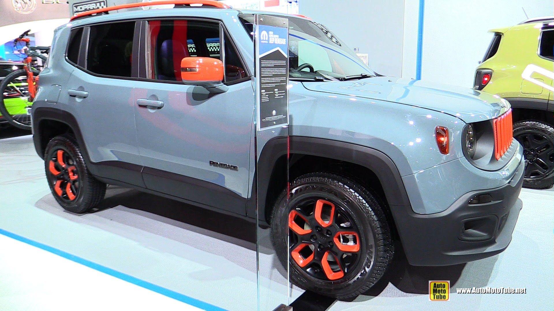2015 Jeep Renegade Urban Mopar Equipped
