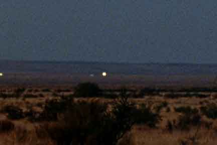 The Marfa Lights-- I want to go there so bad!
