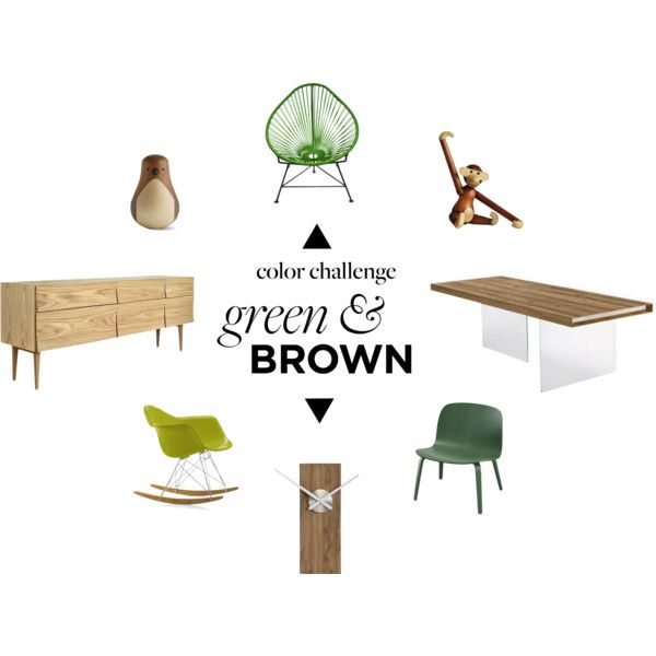 """""""Green & Brown"""" by federicarabitti on Polyvore"""