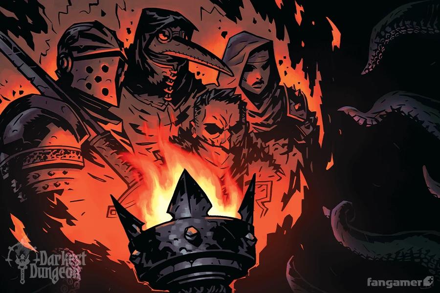 Tribulations Poster 3 Pack Darkest Dungeon Dark Fantasy Art Dark Fantasy