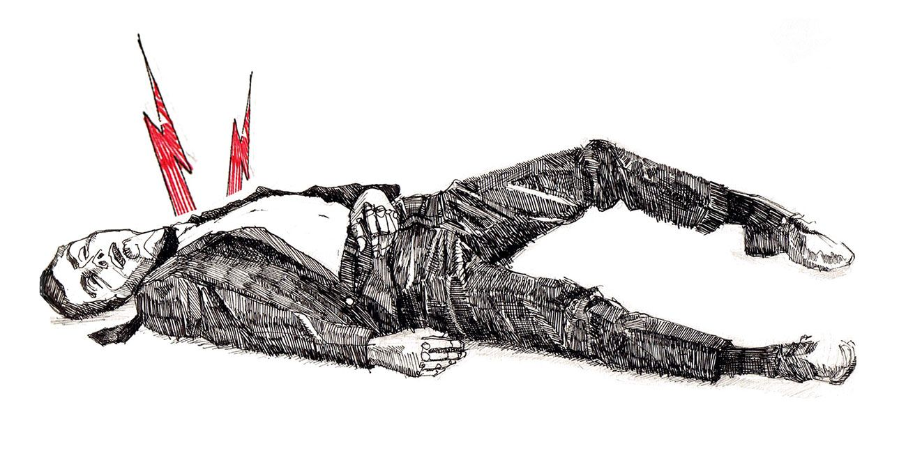 Hombre Muerto.