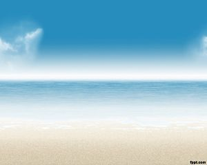 beach background is a powerpoint template that you can use for your
