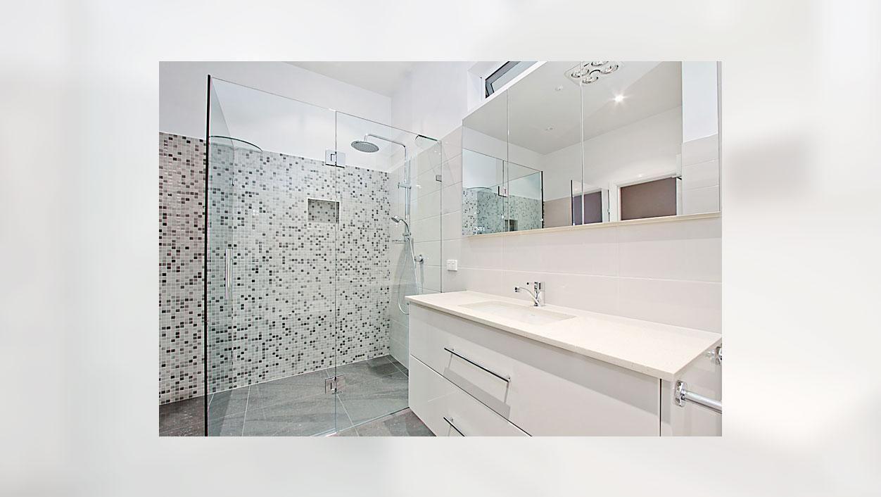 ultra modern bathroom renovation strathmore