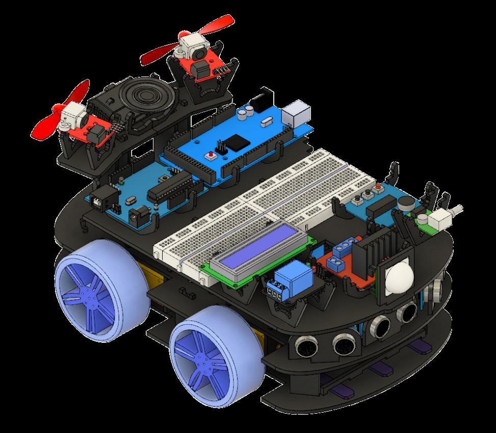 Creator Mega Bot in 2019   Drones, Robotics, 3D Printers, VR, AI