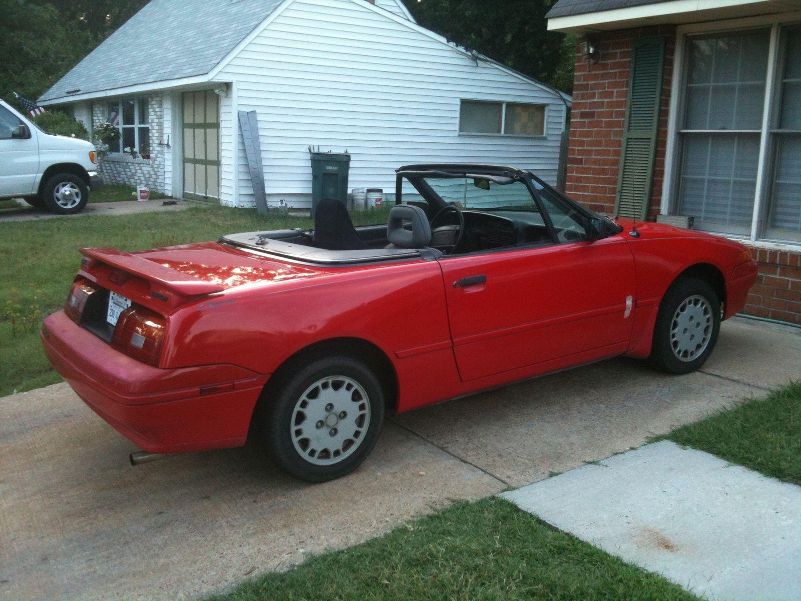 1991 Mercury Capri 2 Dr Xr2 Turbo I Can T Wait Until Mine Is