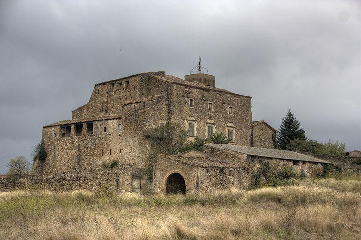Castillo de Vilarig. Cistella (Gerona)