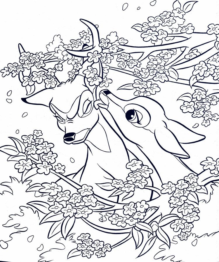 Bambi Coloring Pages For Kids Free Coloring Sheets Horse Coloring Pages Disney Coloring Pages Cartoon Coloring Pages