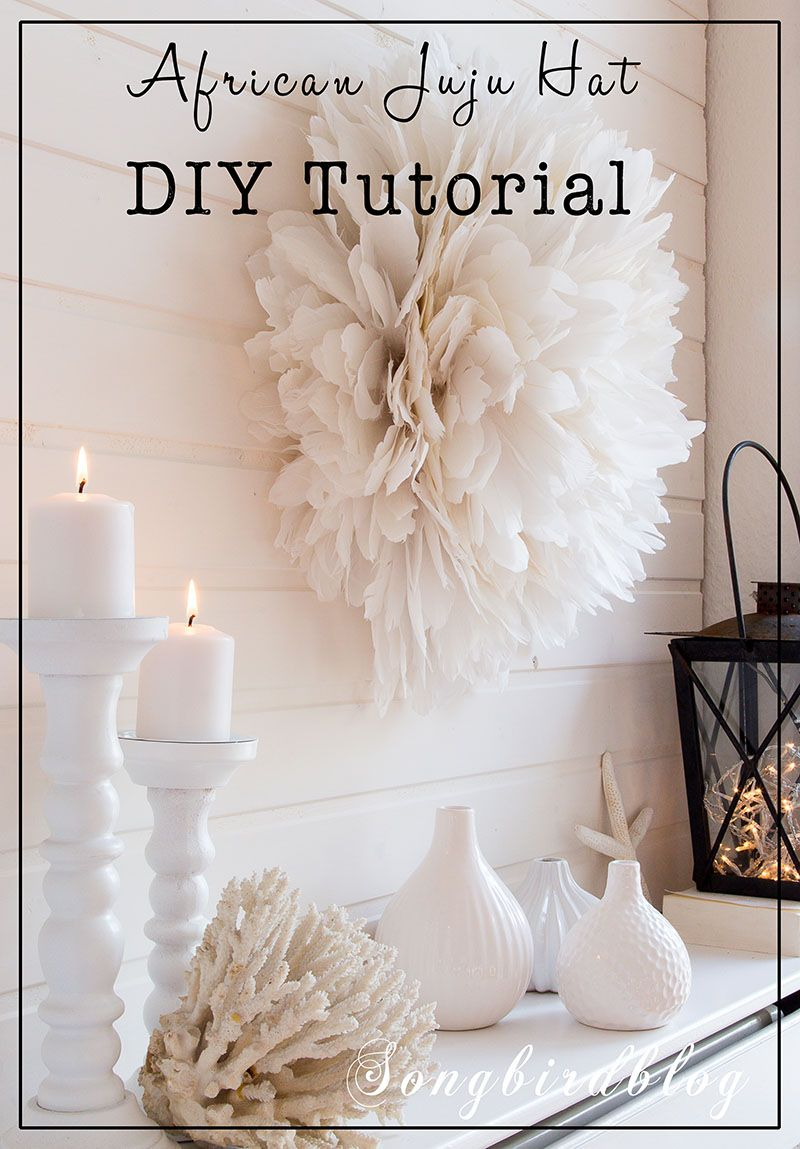 Step By Step Easy Tutorial To Make Your Own African Juju Hat Diy