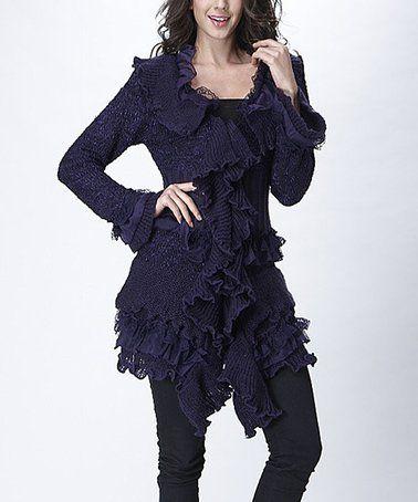 41d9736877 Look what I found on  zulily! Purple Tier Ruffle Dress - Plus  zulilyfinds