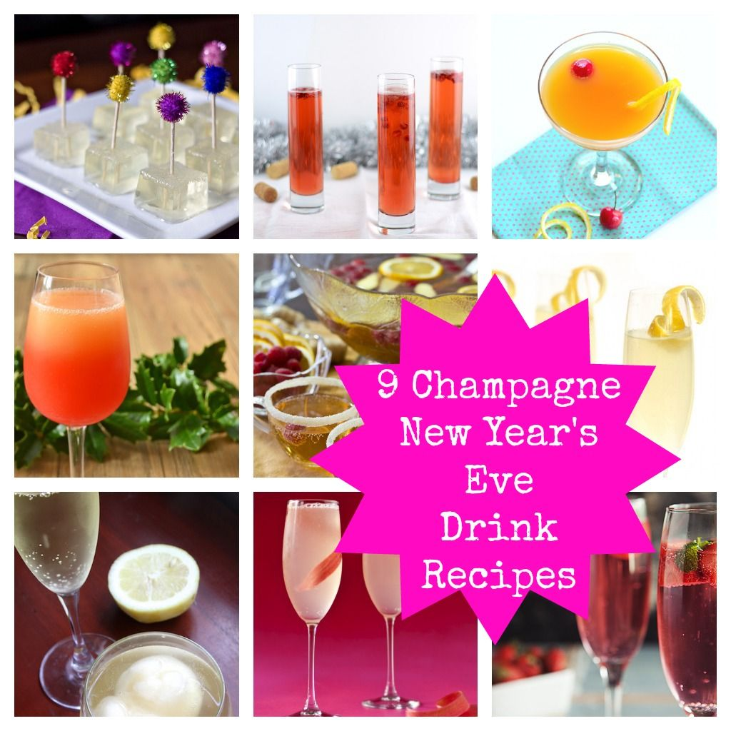 9 New Year's Eve Champagne Drink Ideas: From Jello Shots