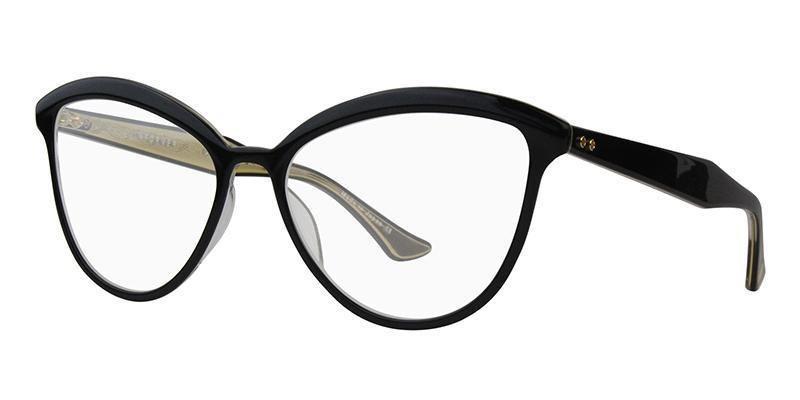 aac3a4897b2ba Dita - INFORMER Black - Crystal Clear Back eyeglasses