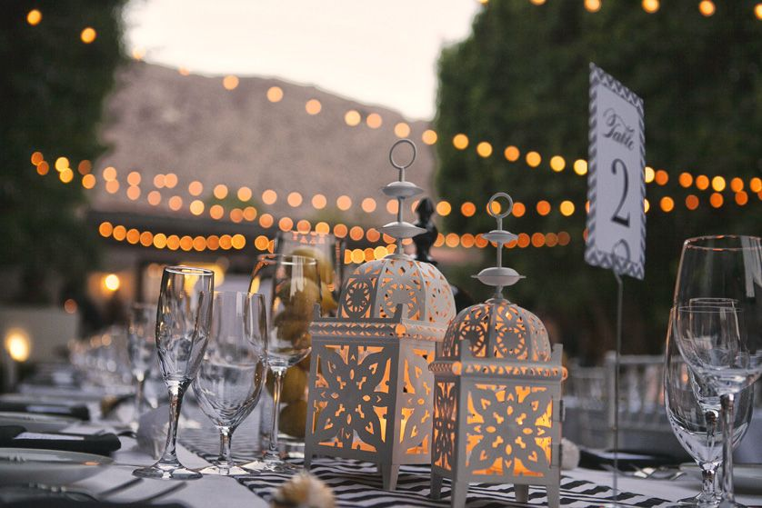 Lanterns Alight As The Sun Sets At Viceroy Palm Springs Fabulous Decor Always By Event Fl Wedding Photographer