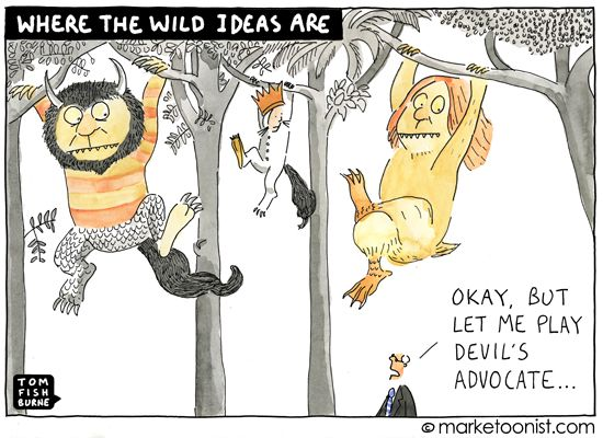 where the wild ideas are - Tom Fishburne
