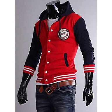 Mens Thick Hoodie Cotton Baseball Coat http://mxpi.co.nf/?item=1013519