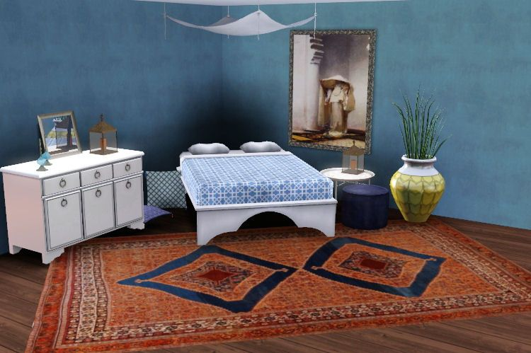 exoticelements3: moroccan inspired bedroom | the sims 3 cc