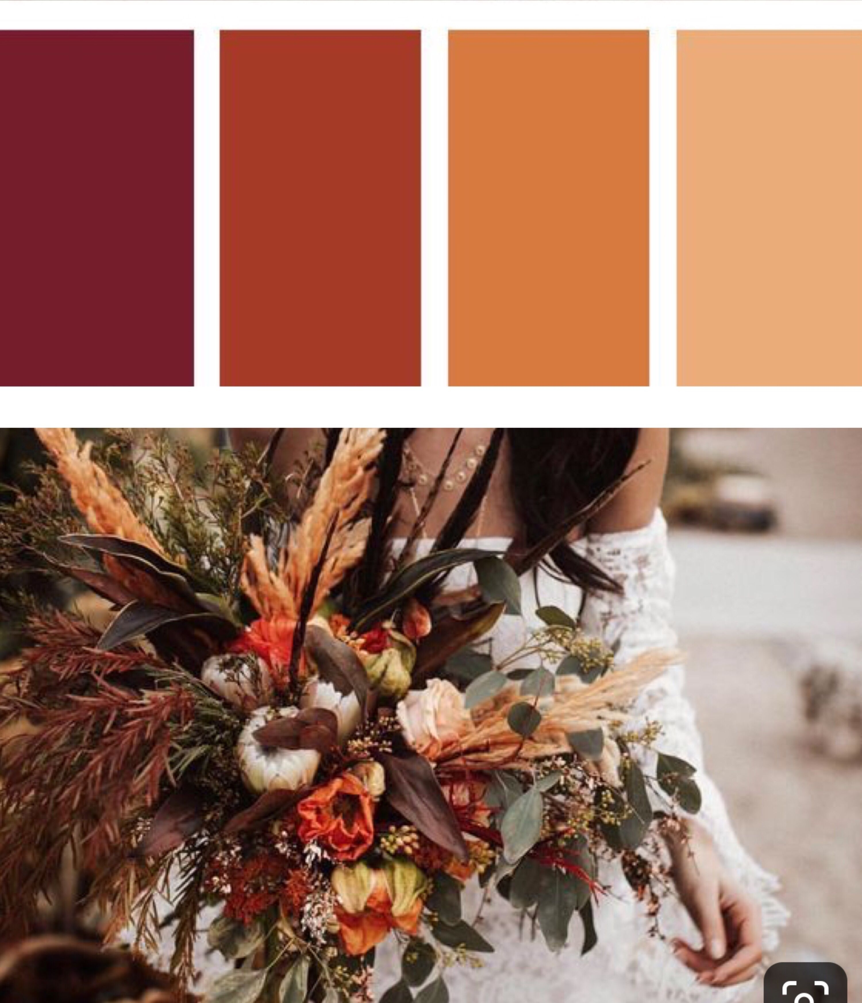 Moody Autumn Wedding