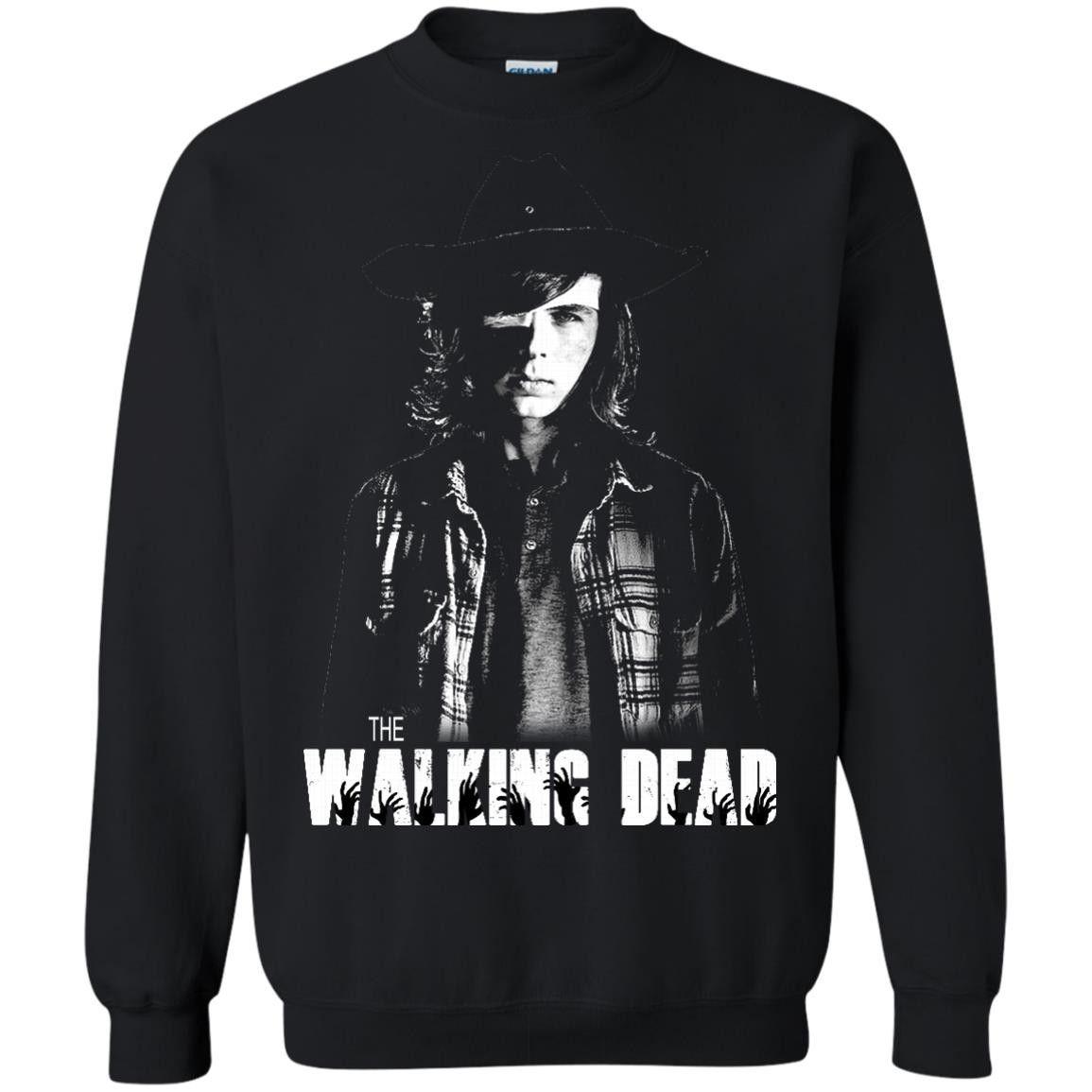The Walking Dead Carl Grimes T Shirts Hoodies Sweatshirts Hoodie Shirt Sweatshirts Sweatshirts Hoodie [ 1155 x 1155 Pixel ]