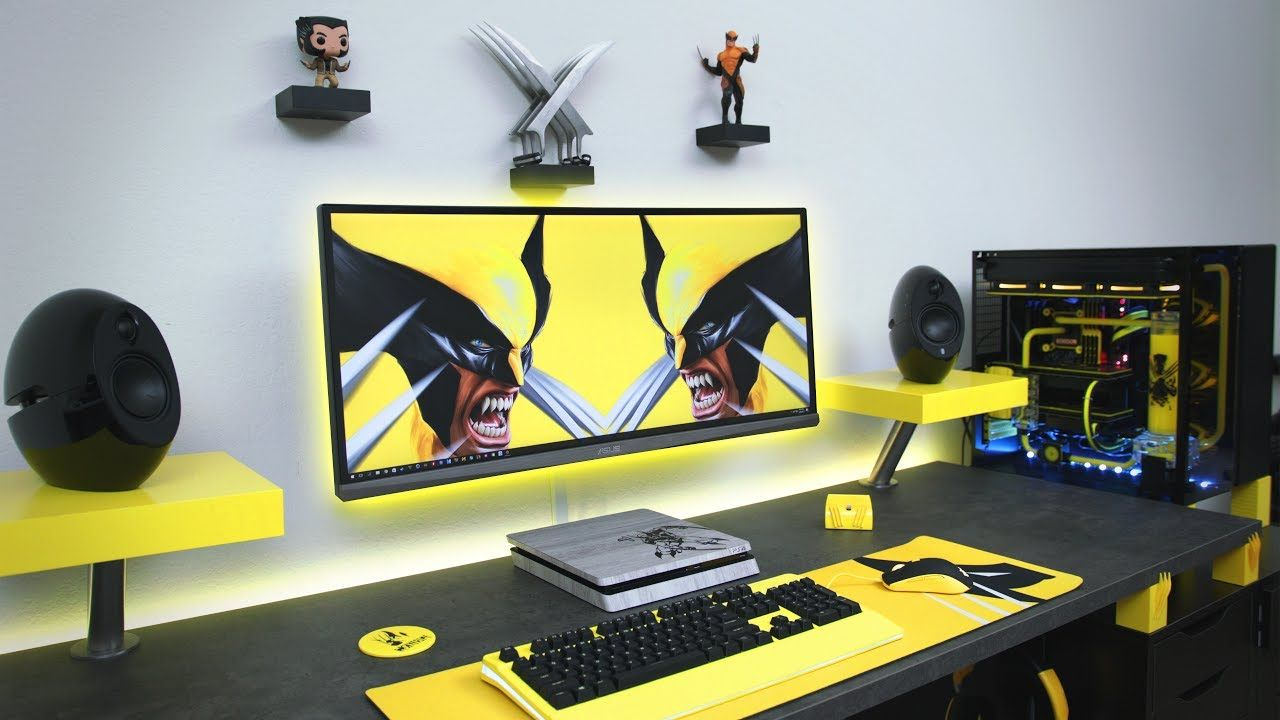 25 super awesome wolverine themed products that every fan on video game room ideas for adults id=45539