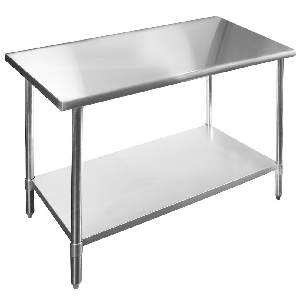 Stainless Steel Commercial Kitchen Work Food Prep Table - 24\