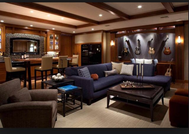 Nice Size Man Cave Room Man Cave Living Room Man Cave Furniture