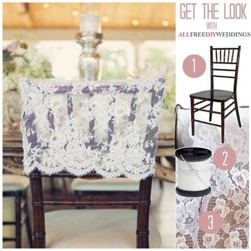 Lace Chair Back Cover