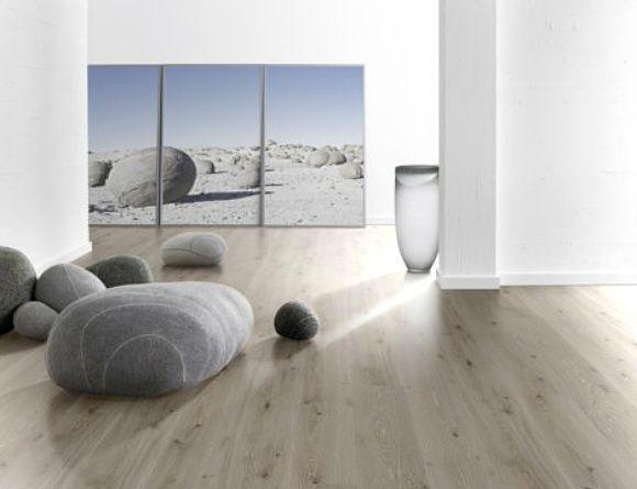 wP1473985 Parador Trendtime 6 Laminat Eiche Castell weiß lasiert - Laminat Grau Wohnzimmer