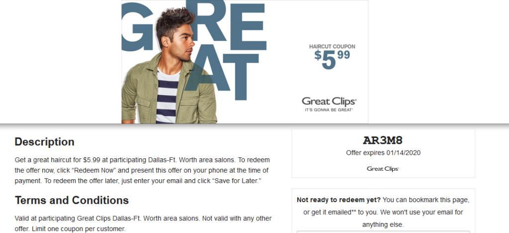 Great Clips Coupons 7 99 Sale 2020 Haircut Deal 5 6 99 12 99 In 2020 Great Clips Coupons Haircut Deals Haircut Coupons