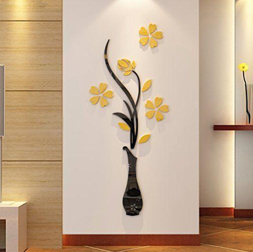3d Vase Wall Murals For Living Room Bedroom Sofa Backdrop Tv Wall