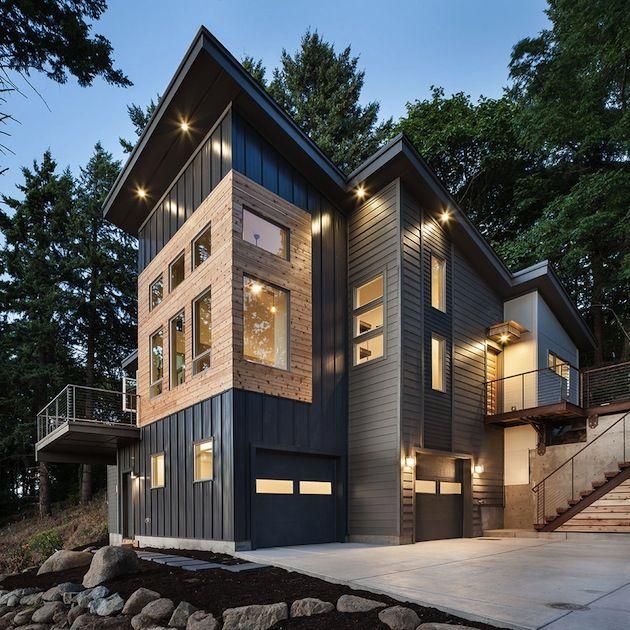 Contemporary Hilltop House In Portland Oregon 1