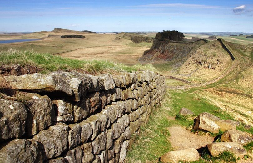 Hadrian S Wall Roman Monument Hadrians Wall Lake District Attractions