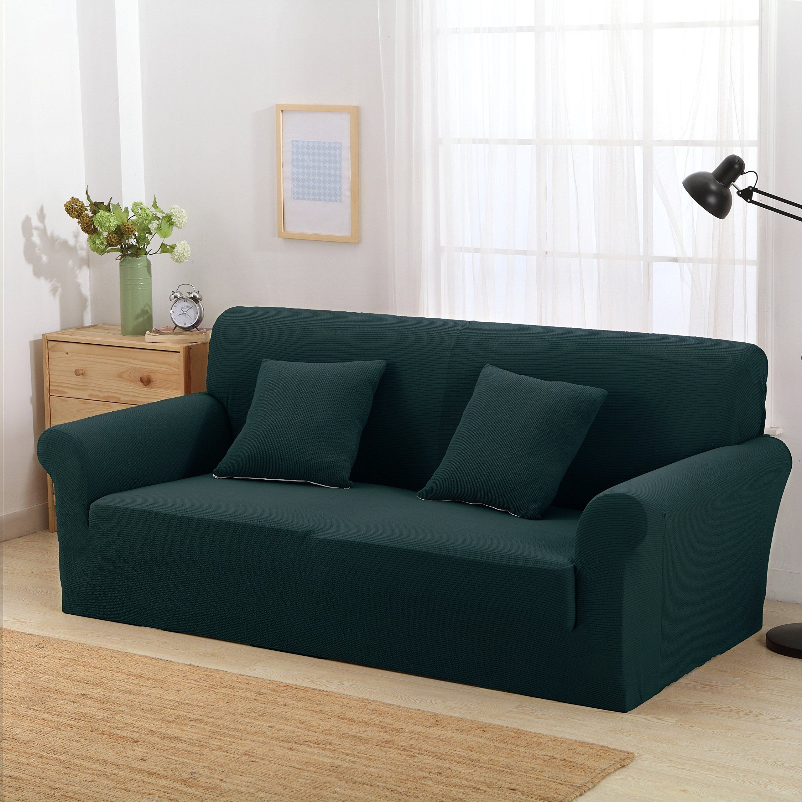 Argstar Premium Knit Large Sofa Slipcover Elastic Couch Cover Home