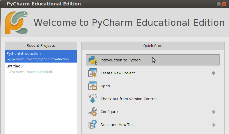 Take (or design!) Programming 101 with PyCharm Educational Edition 1.0.1