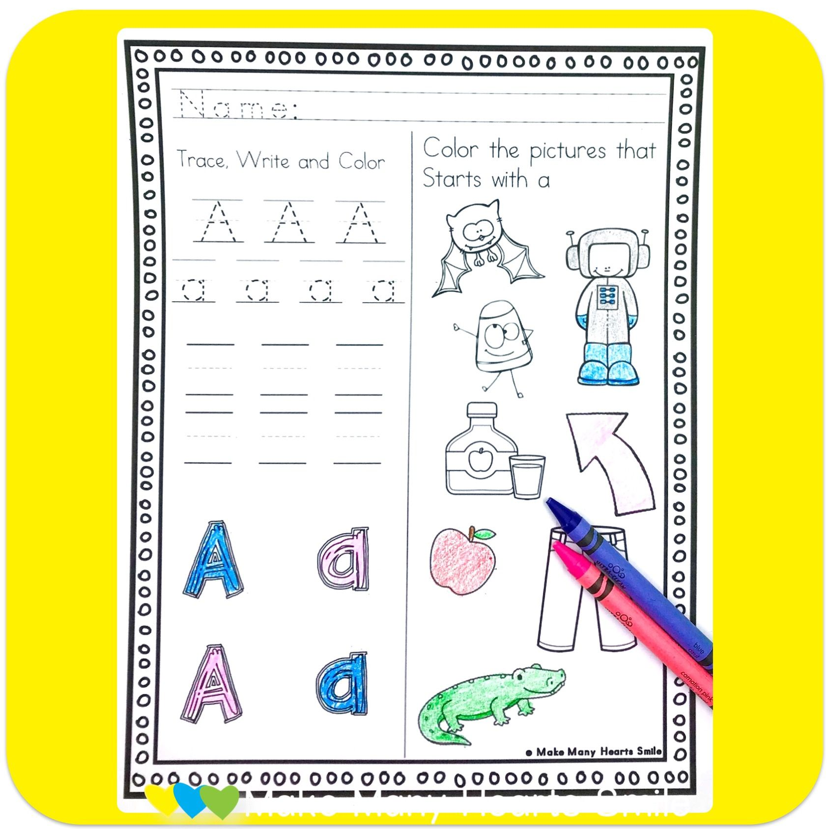 Writing Letters Worksheets Mmhs25