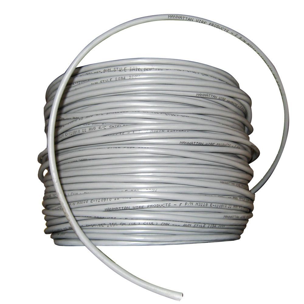 Cobra Wire 22/4 Shielded Comm Cable - NMEA 0183 - Cable By The Foot ...