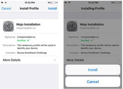 How to Download Mojo Installer on iOS 9 & iOS 10 without Jailbreak