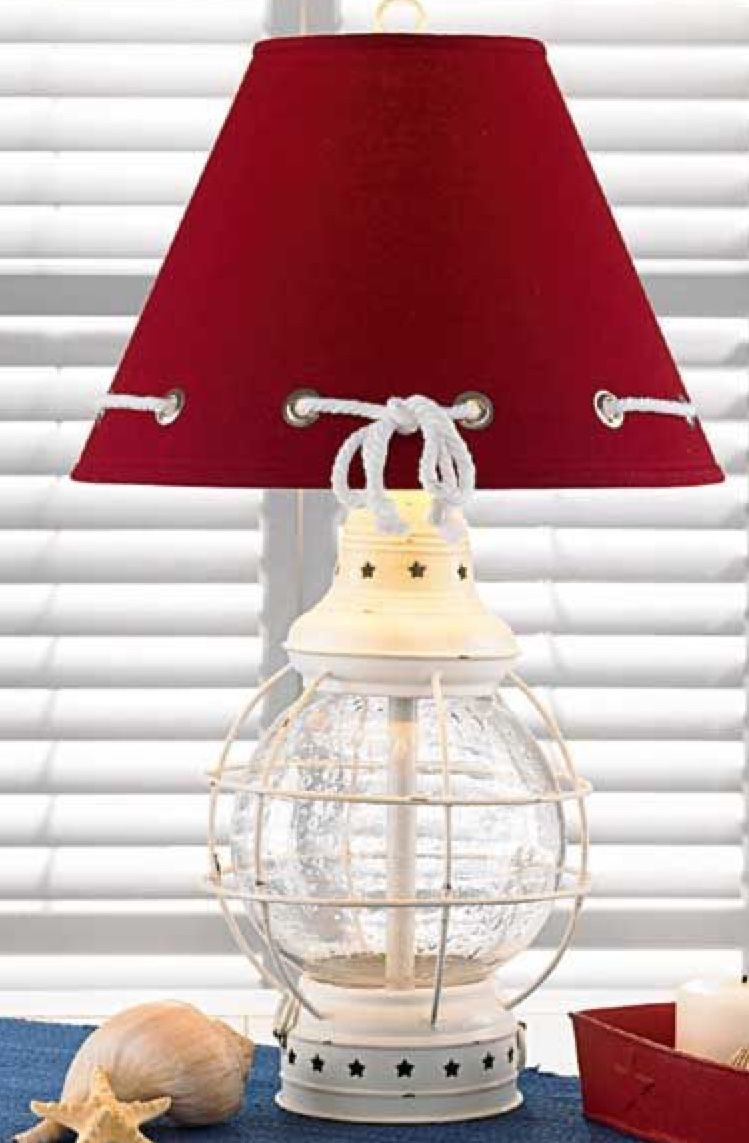 Pin by Gail Steven on Absolutely ♥️ Nautical lamps