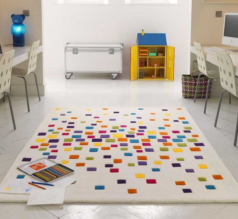 10 Cheerful Rugs That Will Brighten Up Any Kids Room Bright Rugs