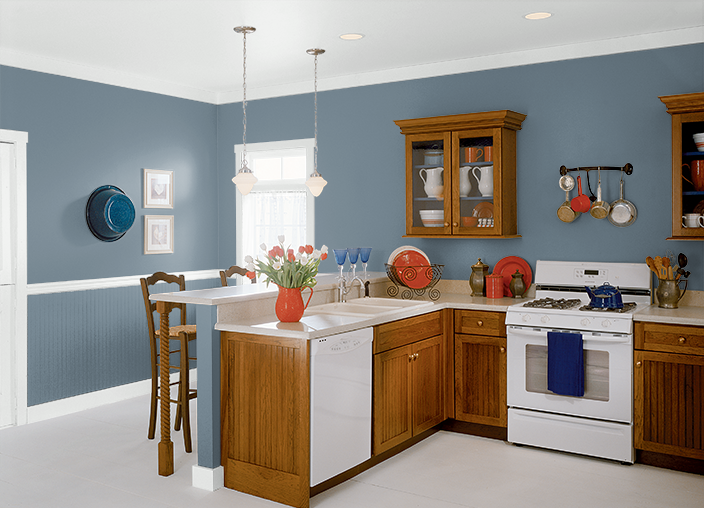 Lyric Blue Hdc Ac 24 Behr Kitchen Home Ideas Pinterest