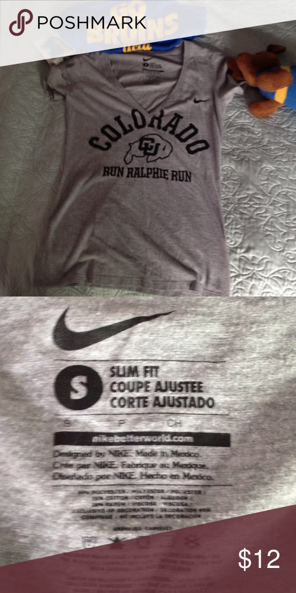 Spotted while shopping on Poshmark: Nike Colorado Buffalos T-shirt. Size S! #poshmark #fashion #shopping #style #Nike #Tops