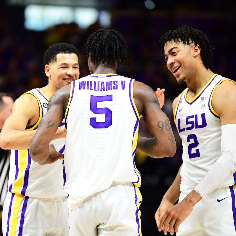 Geaux Tigahs 6 0k On Instagram Lsu Basketball Remains Undefeated In Sec Play With A 90 76 Win Against Alabama The Tigers Were In 2020 Lsu Undefeated Sports Jersey