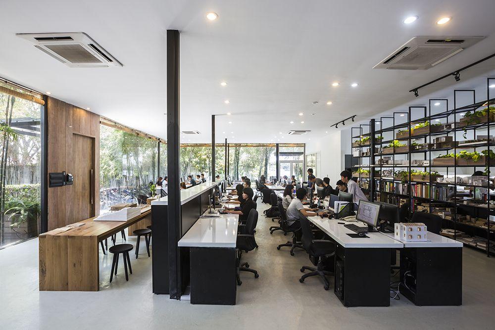 Văn phòng công ty kiến trúc MIA Design Studio | Thiết kế văn phòng ...