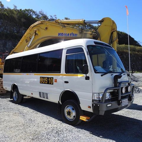1b769dbcd8 The latest mine specification EnduroCo 4WD Toyota Coaster with 190mm body  lift kit  toyota  hino  toyota4x4  toyotanation  toyotacoaster  motorhome   rv ...