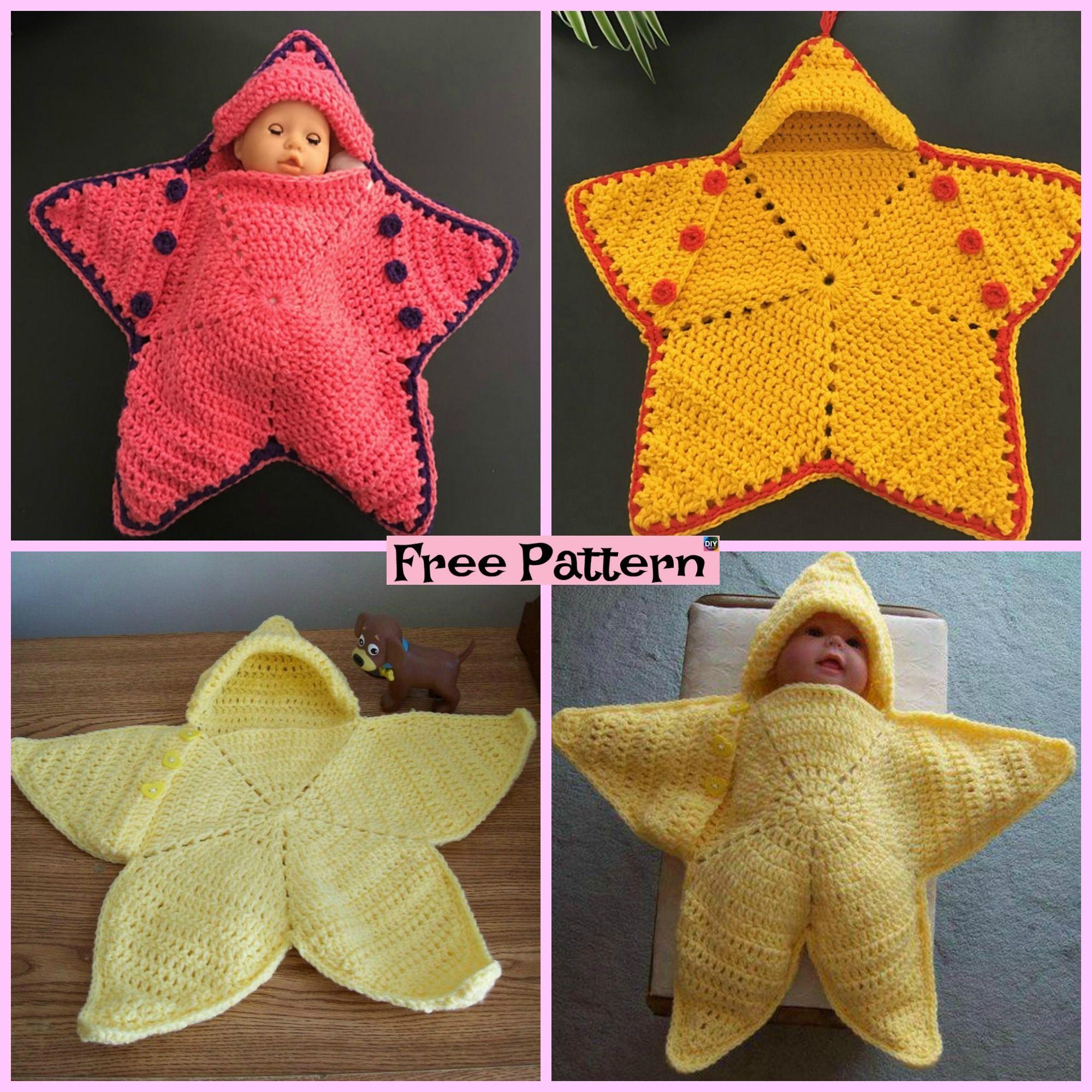 Cute Crochet Baby Star Bunting Free Pattern Crochet Ideas
