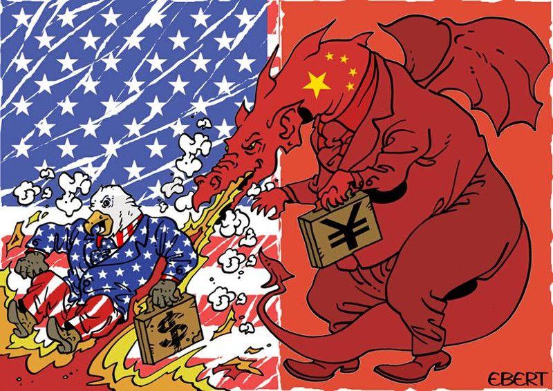 """FINANCIAL TIMES: Приближава се конфликт САД и Кине  Коментар чији је аутор Филип СТИВЕНС завршава се речима: """"САД, које желе перманентну доминацију, могу се сукобити са Кином… Тукидид би вероватно реако да се све незаустављиво креће ка њиховом конфликту… Сада ни �"""