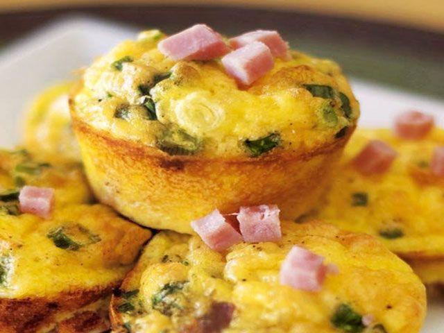 Muffins Légers aux Poireaux et Jambon WW - Recette WW