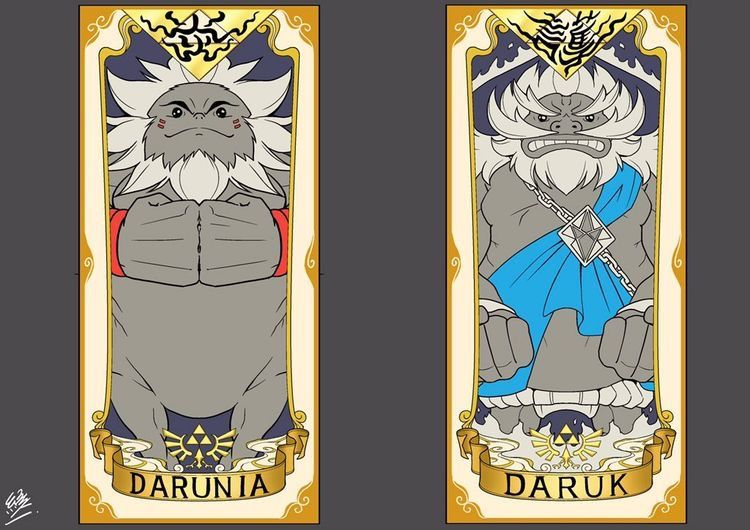 Darunia & Daruk | Board of Zelda | Legend of zelda, Legend