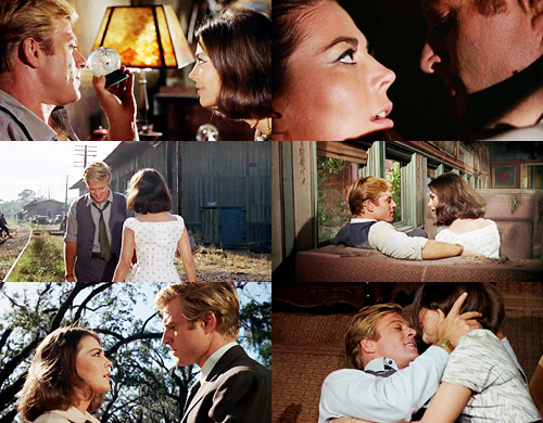 Natalie Wood and Robert Redford in 1967's This Property is Condemned.