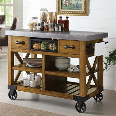 The Rachel Serving Cart Has Become A Little Coffee/tea Bar For Us In  Addition · Kitchen Island ...