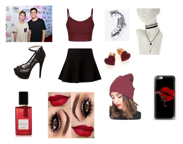 Jack and Jack by sasacaragua on Polyvore featuring polyvore fashion style Charlotte Russe Michael Kors WEST L.A. Diana Vreeland Parfums clothing